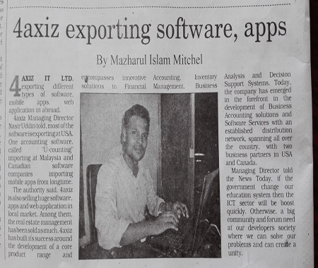 Exporting software over the world